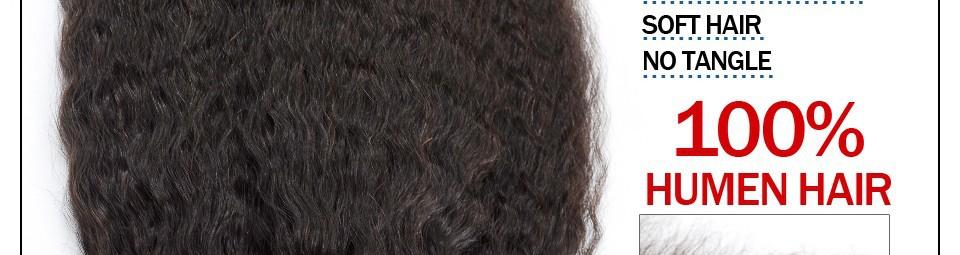 Grade 6A+ Unprocessed Instock Weave Brazilian Kinky Straight Hair Extension 3pcs/lot Coarse Yaki Virgin Hair Light Yaki straight