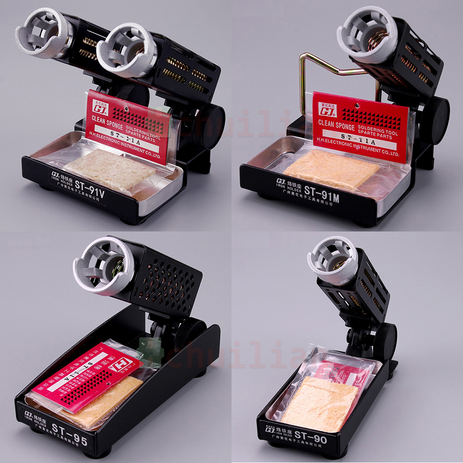 1pcs ST-91V ST-90 ST-91M ST-95 Soldering Iron Support Stand Station Metal Base Iron Stand