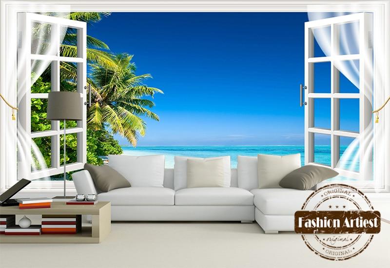 Tropische muurschildering koop goedkope tropische muurschildering loten van chinese tropische - Geschilderd slaapkamer model ...