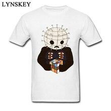 Alta calidad Cubo de Rubik T camisas para niños 100% tela de algodón  camisetas en venta película de terror Tops Tees de de dibuj. 8212514017d