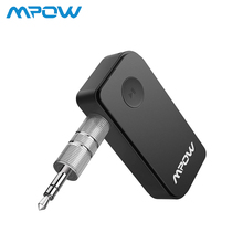 Mpow Upgraded Bluetooth Wireless 5.0 Receiver Audio Adapter Bluetooth Car Kit for Music Hands-free Call Car Stereo System