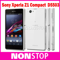 "Abierto Original Sony Xperia Z1 Compacto GSM 3G y 4G Android Quad-Core 2 GB RAM ZI MINI D5503 4.3 ""20.7MP WIFI GPS 16 GB ROM"