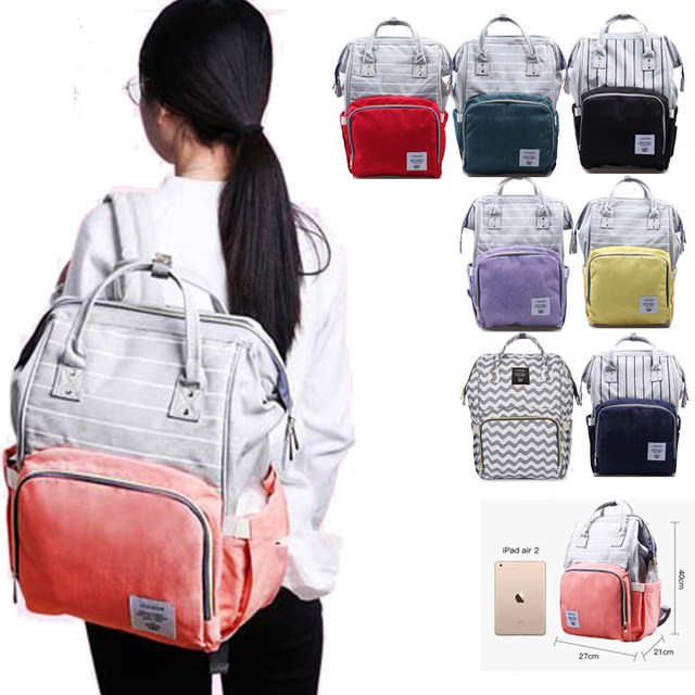 Diaper Bag for mother backpack Large Capacity travel Mom wet nappy bags Tote maternity backpack Baby care stroller Bag organizer