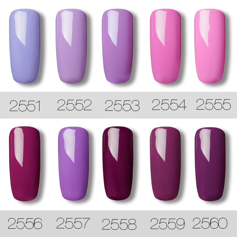 ROSALIND-Gel-1S-Pink-Purple-Color-Nail-Polish-7ml-Gel-of-Nails-For-Manicure-Semi-Permanent