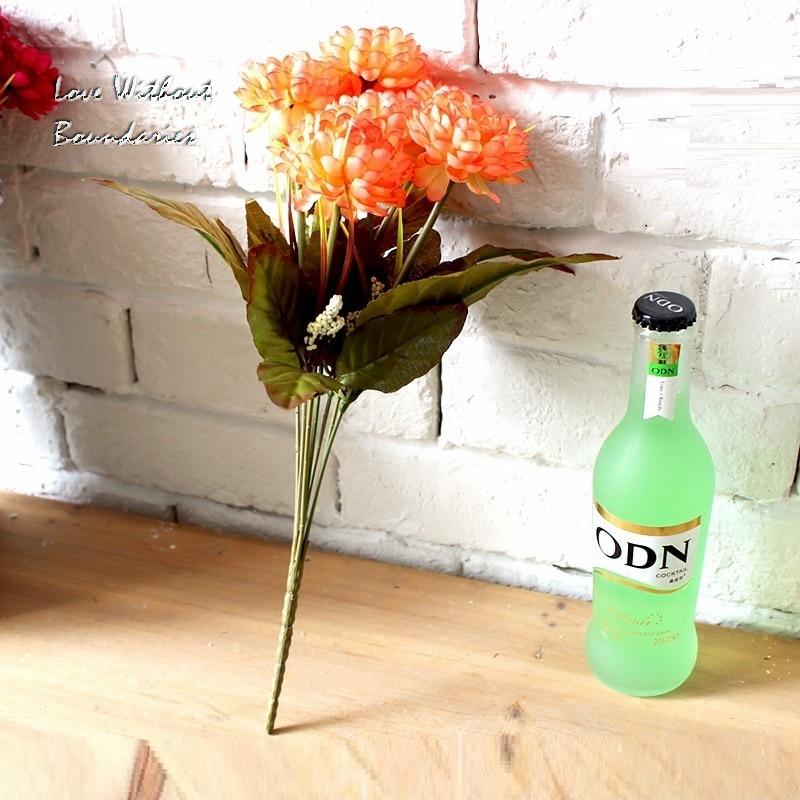 King Whyte, Jesenska krizantema, Cvetlična oprema za dom, dnevna - Prazniki in zabave - Fotografija 2