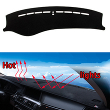 Car dashboard Avoid light pad Instrument platform desk cover Mats Carpets Auto accessories car styling for kia cerato 2005-15