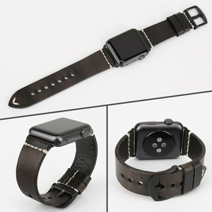 Image 4 - MAIKES New Arrival Genuine Leather iWatch 44mm 40mm Watch Band For Apple Watch Strap 42mm 38mm Series 4/3/2/1 Bracelet Watchband