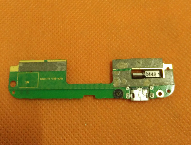 Used Original USB Plug Charge Board For Lenovo S898T+ MT6592 Octa Core 5.3'' HD TD-SCDMA Free Shipping