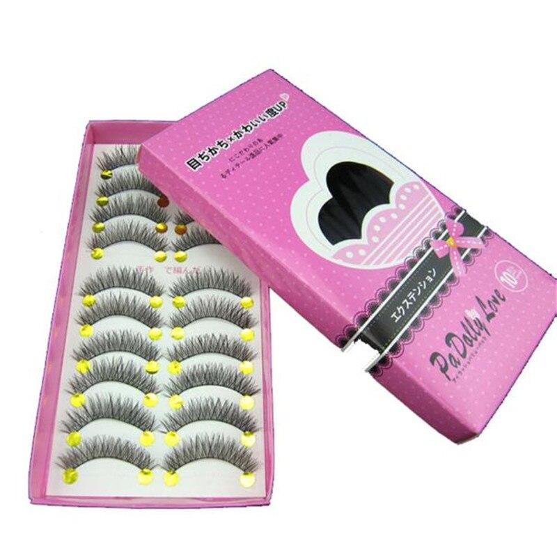 hot sale 2018 New Japanese Style Black 10 Pairs High-quality Eyelashes #8