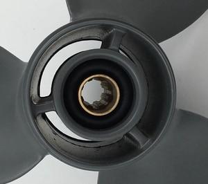 Image 4 - 무료 배송 9 1/4x11 또는 9.25x11 8hp 20hp honda propeller4stroke 8 치아 honda 선외 보트 모터 알루미늄 프로펠러