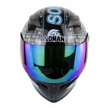 New Motorcycle Helmet Full Face Casque Moto Riding ABS Motocross Helmet Mens Motorbike Capacete  ECE Certification Casco Moto
