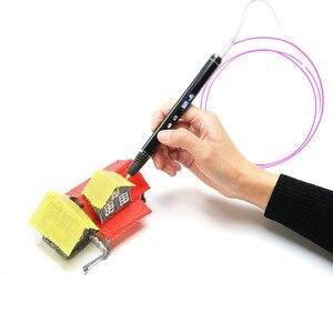 Image 5 - Pluma 3D de garabateo para la escuela, bolígrafo de filamento ABS, PLA, OLED, lápiz para impresora 3D, regalos de Navidad