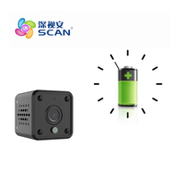Hd 720P Battery Ip Camera Wifi Motion Detection Outdoor Waterproof Mini Card Black Cctv Surveillance Security
