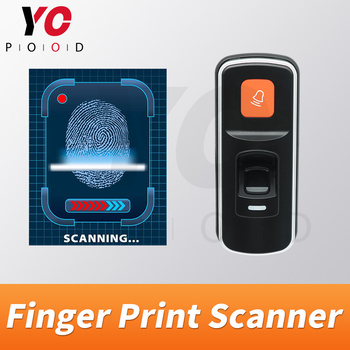 Finger Print Scanner Escape Room Game Prop Players find the Add Card then scan add new fingerprint then input to unlock YOPOOD фото
