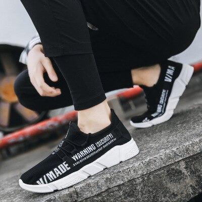 De amarillo Absorbente Ligera Zapatos Casuales Cómodos Coreano 2019 Hombres Negro Usar Transpirable rojo Los Sudor Nuevo Y Es q1IPTwf
