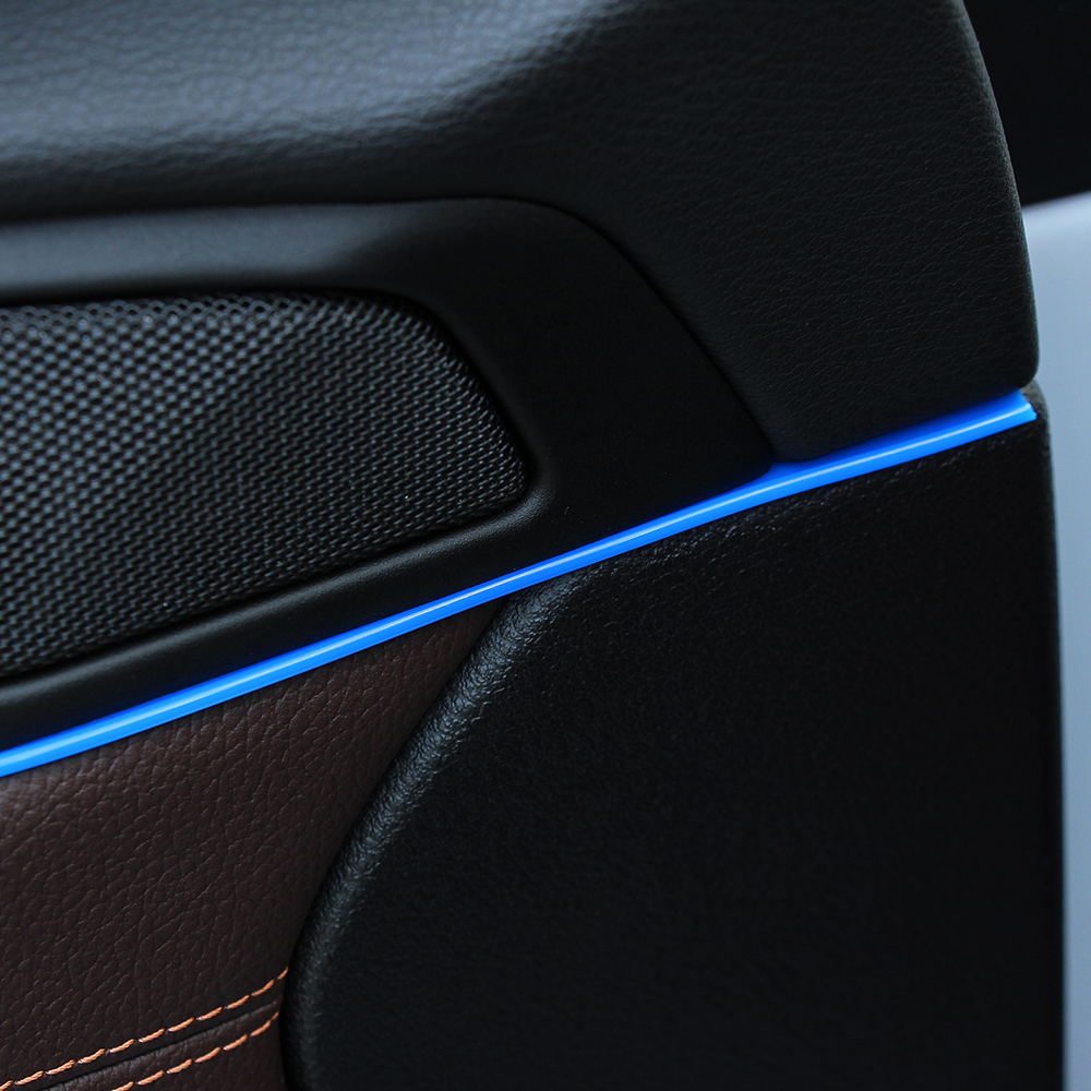 5 M Car Styling Interior Decoration Decorative Thread Sticker For SEAT Ibiza Leon Toledo Exeo