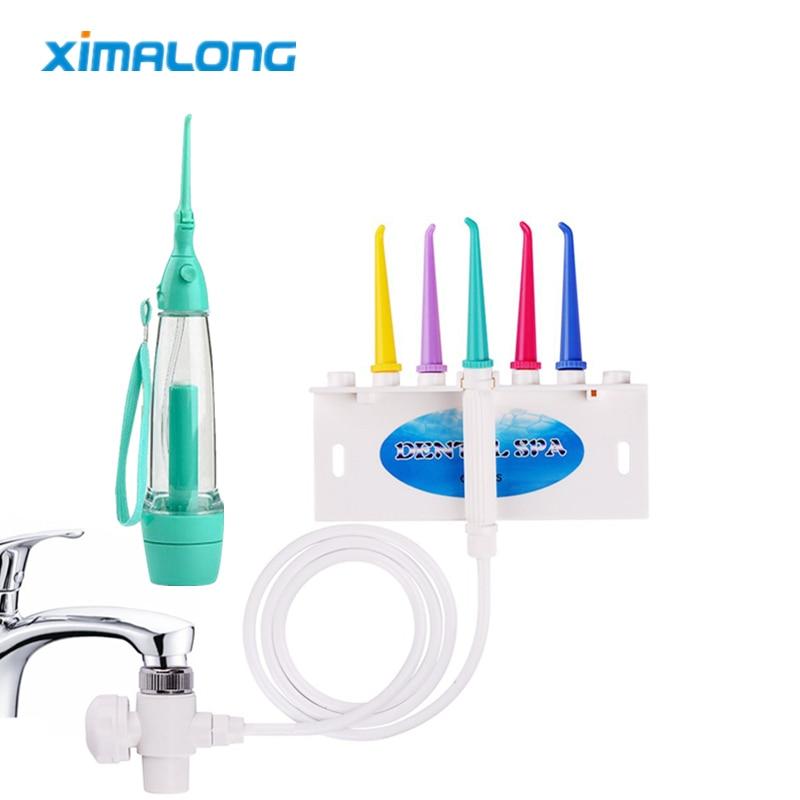 Nicefeel Fc165 8 Stücke Tipps Wasser Flosser Oral Irrigator 600 Ml Mundhygiene Dental Flosser Wasser Floss Wasser Zahnseide Dental Zahnseide Dental Flosser