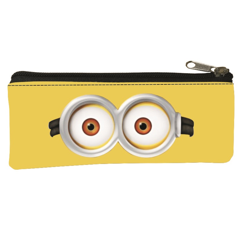 2017 Hot Sale Polyester Printing Cartoon Lovely Women Coin Purses for Kids Baby Pen Bags Boys Key Wallet Children Change Purse