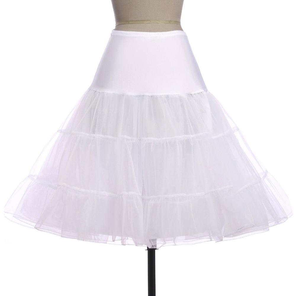 Belle Poque Tüll szoknyák 2019 Női Vintage Petticoat szoknya Bolyhos alsónadrág Esküvői menyasszonyi Retro PettiSzirtgolyó ruha