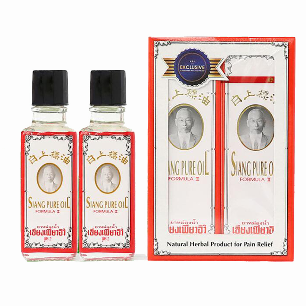 25ml Thailand SIANG PURE oil Sprain for shoulder neck head abdomen waist hand and foot pain Relax backpain relief dizziness in Massage Relaxation from Beauty Health