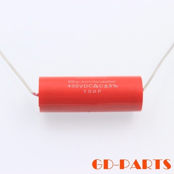 2PCS Audiophiler MKP Capacitor 400VDC 1uf 1.0uf Audio Grade For Vintage Tube Amplifier Speaker Crossover Coupling Repair DIY image