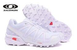 Salomon SpeedCROSS 3 Men Sneakers Red Man Breathable Flats Fencing Shoes Salomon Speed Cross 3 Mens Sneaker