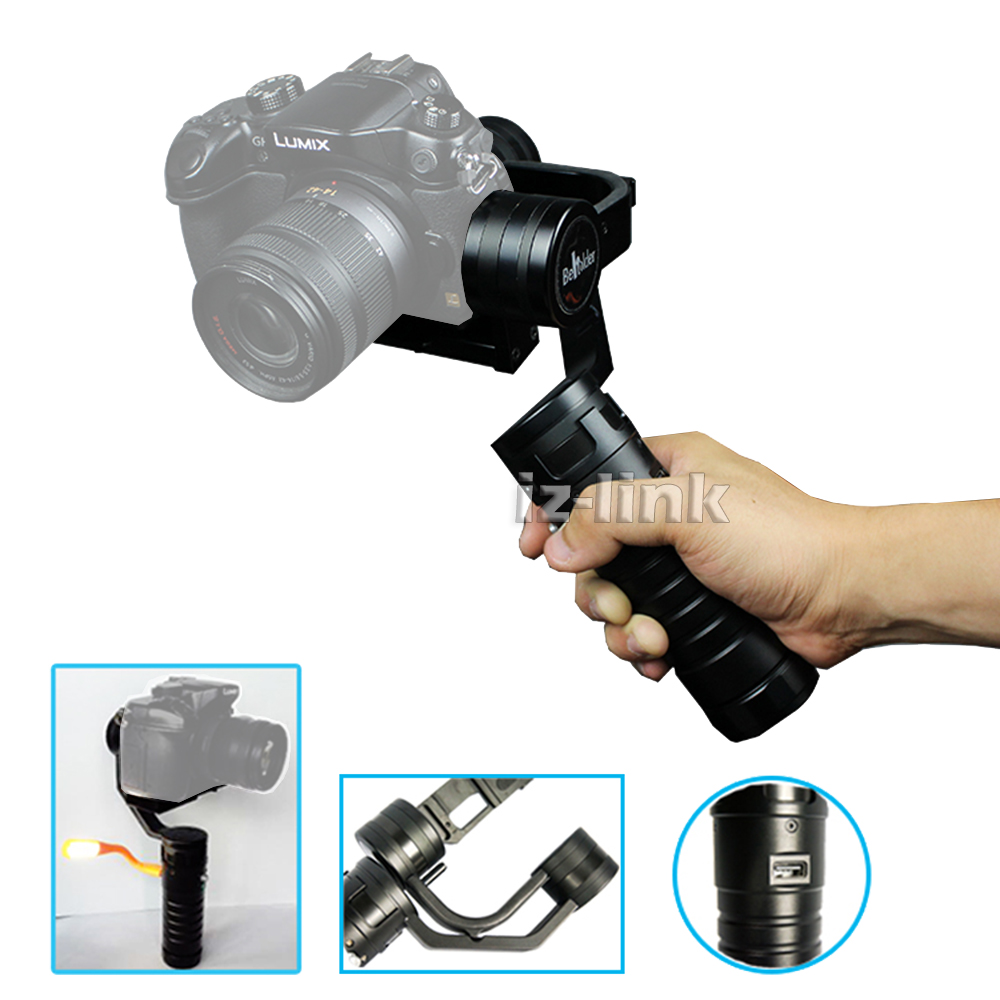For Sony NEX A7 A7S MS1 Beholder Handheld Stabilizer 3 Axis Electronic Gimbal sony nex vg30e