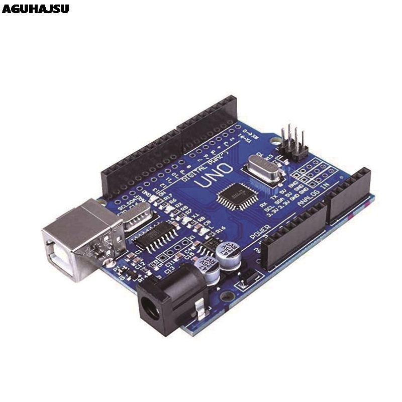 Image 2 - UNO R3 Development Board ATmega328P CH340 CH340G For Arduino UNO R3 With Straight Pin Header-in Integrated Circuits from Electronic Components & Supplies