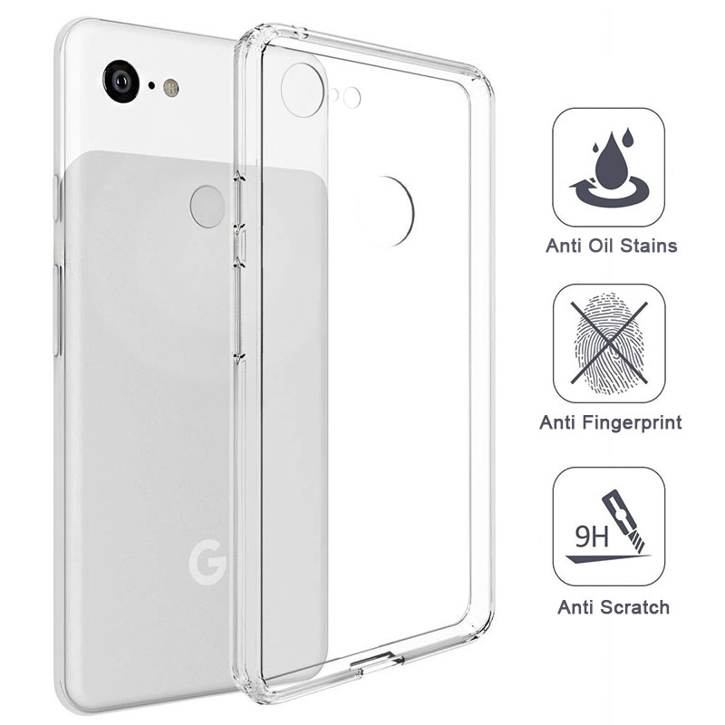 Ultra Thin Phone Case For Google Pixel 3 3 XL Case Cover Anti-Knock Silicone TPU Transparent Cover Case For Google Pixel 3 Shell