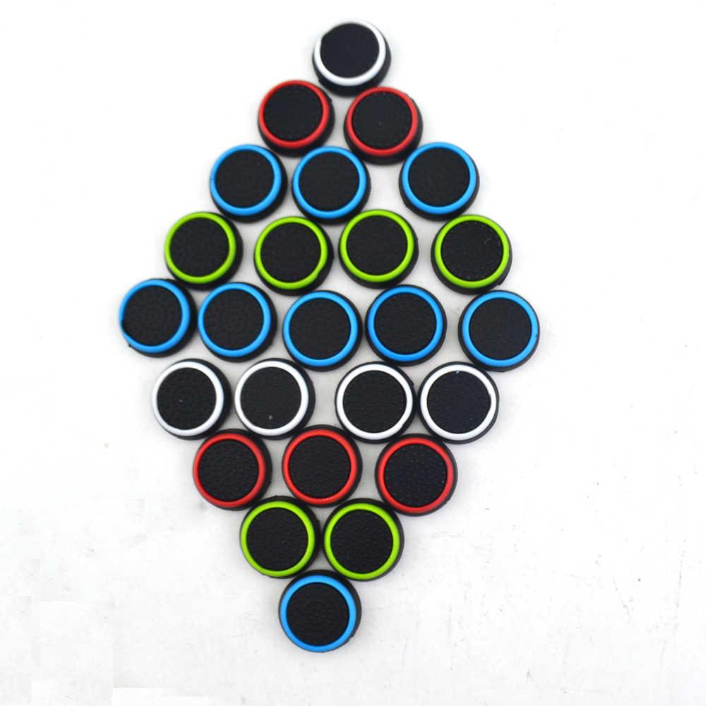 100 個ゲームアクセサリー保護カバー用シリコーン親指スティックグリップキャップ PS3/PS4 xbox xbox 360 用 1 ゲームコントローラ