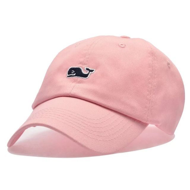 Whale Embroidery Cotton Baseball Cap 2