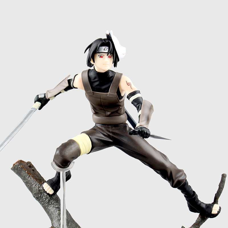J.G Chen Anime Action Figures Naruto Shippiden Uchiha Itachi Dark Ver. 1/8 Scale Painted Figure Collectible Model Toy Gifts 1 6 scale sa0004 harry potter and the sorcerer s stone hermione granger collectible action figures dolls gifts