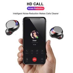 Image 4 - Auriculares TWS, inalámbricos por Bluetooth 5,0, auriculares inteligentes con micrófono y cancelación de ruido, auriculares a prueba de agua ipx8