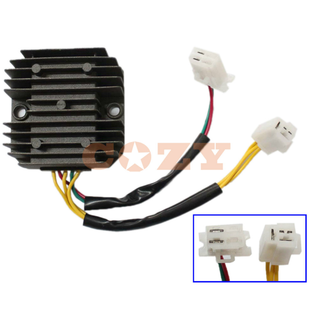 aliexpress buy 12v 5 wires motorcycle voltage regulator rectifier for honda ch125 ch150