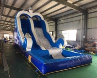 Commercial inflatable water slide with pool inflatable water slide for inflatable slide