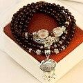 Agate natural crystal bracelet jewelry multilayer retro blue-veined elephant tourmaline bracelet jewelry wholesale s330