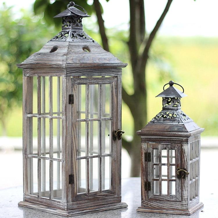 Acquista all 39 ingrosso online legno lanterna da grossisti for Lanterne d arredo