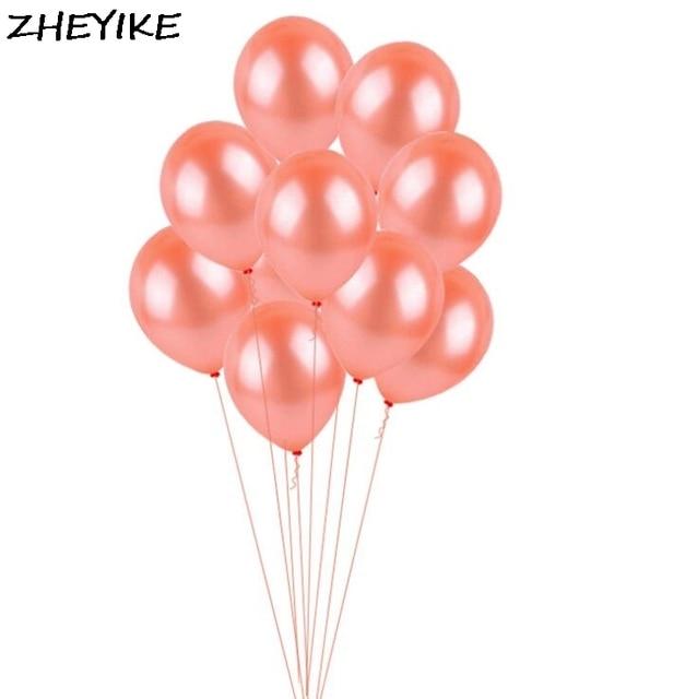 Us 296 Zheyike 10 Pcslot Balon Lateks Inflatable Balon Dekorasi Pernikahan Ulang Tahun Pesta Natal Festival Musim Semi Perlengkapan Mainan Anak Di
