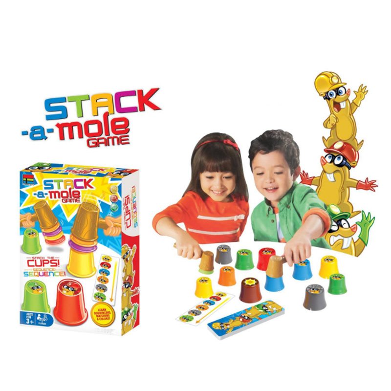 Stack Mole Board Game Family/Party Best Gift For Children Reaction Game Entertainment