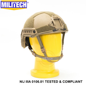 Image 4 - Новый пуленепробиваемый арамидный баллистический шлем CB NIJ IIIA 3A с сертификатом ISO, 2019, быстрая работа XP Cut, гарантия 5 лет