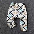 2016 Pantalones Infantiles 0-3Yrs Muchachas de Los Bebés Fox Batman Pantalones Moda De Nueva Ropa Del Bebé Pantalones de Algodón de Otoño Primavera Infantil Pant