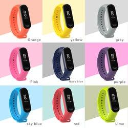 xiaomi band 3 Silicone wrist strap For Xiaomi Mi Band 3 Bracelet Strap Miband 3 Colorful Strap Wristband Smart Band mi band3