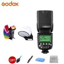 GODOX V860IIF Flash Licht Speedlite GN60 2,4G HSS 1/8000s Drahtlose TTL 2000mAh Li-Ion Akku für fuji Fujifilm Kameras