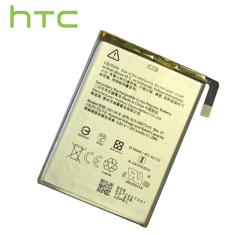 HTC 100% Original LehonS 1x Brand New Batteries For HTC Google Pixel 3 G013A-B 2915mAh Replacement Mobile Phone Battery