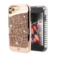 For IPhone 6s 7 8 Case LED Illuminated Selfie Light Cell Phone Case Cover Induced Current
