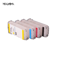 Free Shipping 2 Sets 280ML 10 82 Refillable Cartridge For HP Designjet 500 800 Refillable Ink