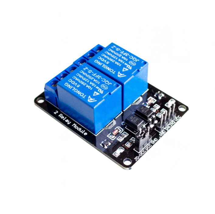 1PCS 2-Channel 2 Channel/Way Relay Module Relay Expansion Board 5V Low Level Triggered 2-Way Relay Module Rpi