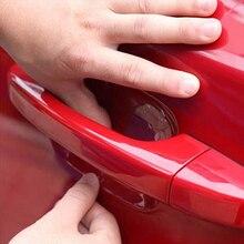 4Pcs/LOT Car Handle Protection Film Car Exterior Transparent Sticker Automotive Auto Accessories Car Styling