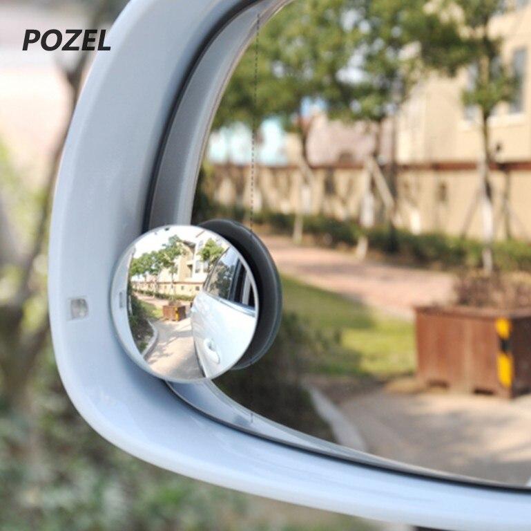 Nuttig 2 Stks Auto Groothoek Ronde Bolle Dodehoekspiegel Voor Peugeot 206 307 406 407 207 208 308 508 2008 3008 4008 6008 301 408 Ruime Levering En Snelle Levering