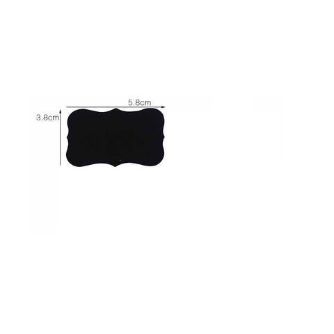 10 pacote lote blackboard etiqueta diy scrapbook